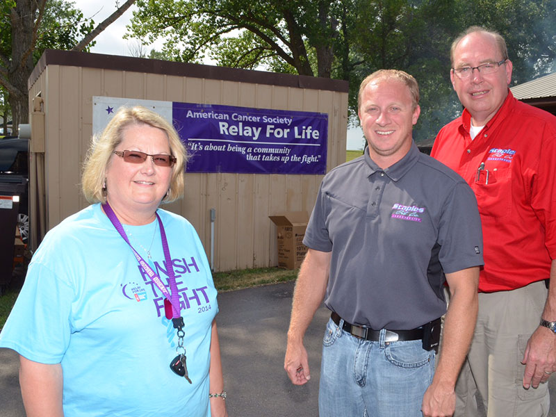 Relay For Life Giving Back
